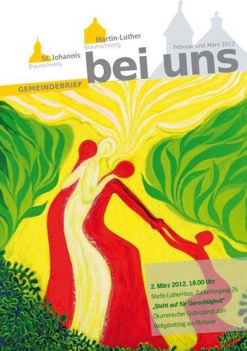 Download Gemeindebrief - in Martin Luther
