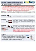 Montage und Bedienung Funkzylinder Funkzylinder U&Z - ekey - Page 7