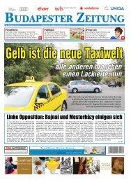 Druckausgabe vom 30. August 2013 - Budapester Zeitung