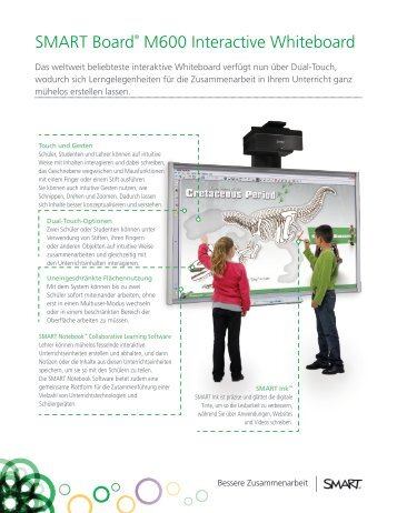 SMART Board® M600 Interactive Whiteboard - EDV & Service GmbH