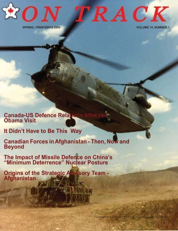 on track - the Conference of Defence Associations