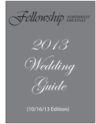 Wedding Guide - Fellowship Bible Church