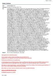 Hubert, Andreas Seite 1 von 2 30.11.2003 www.corvette-fans-forum.de