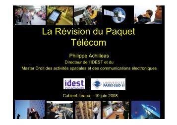 La Révision du Paquet Télécom - Forum Atena