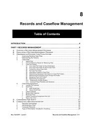 Records and Caseflow Management - Texas Municipal Courts ...