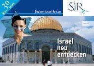 klicken zum Download der aktuellen Ausgabe. - Shalom Israel Reisen