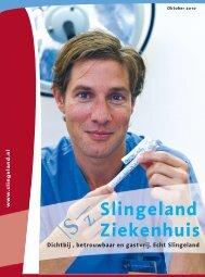 Ziekenhuiskrant 2010 (PDF 15,8 Mb) - Slingeland Ziekenhuis