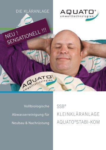 Prospekt AQUATO ® STABI−KOM - Kläranlagen-Vergleich