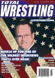 Issue 3 - Total Wrestling Magazine