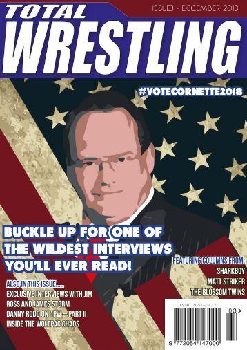Issue 3 - Total Wrestling Magazine