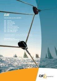 Jahresbericht zum 30. Juni 2013 DJE - ING DiBa Direktbank Austria