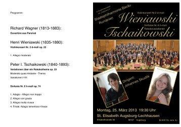 Programm St. Elisabeth
