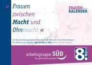 Frauen zwischen Macht und Ohnmacht » « - Bündnis 90/Die Grünen ...