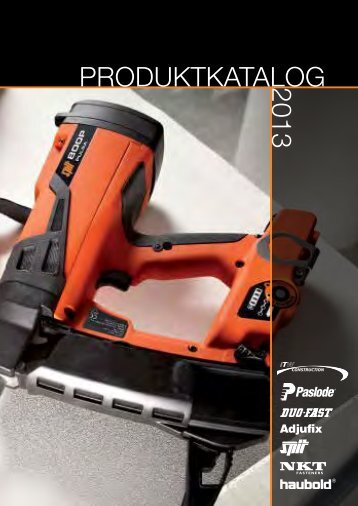 PRODUKTKATALOG2013 - ITW Construction Products AS