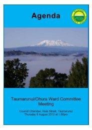 View - Ruapehu District Council