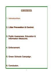 Litter Polution Report - 2011 ( pdf file - 1619 kb in size)