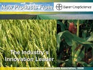 New Products - Louisiana Agricultural Consultants Association ...
