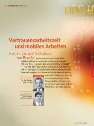 Vertrauensarbeitszeit und mobiles Arbeiten - Dr. Hoff ...