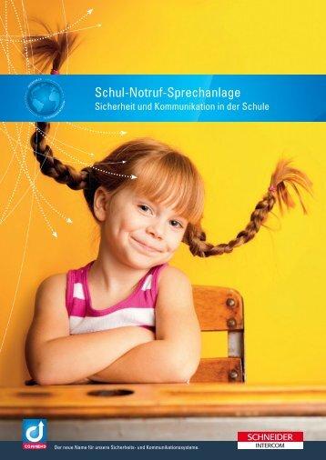 Schul-Notruf-Sprechanlage - Die sichere Schule