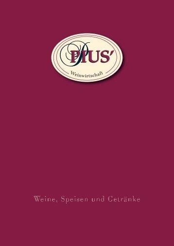 flaschenweine rot - Pius Weine
