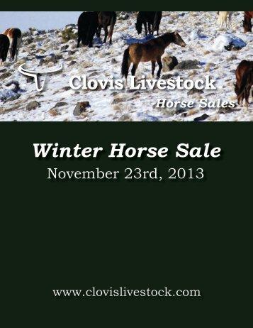 Winter Catalog in PDF - Clovis Livestock