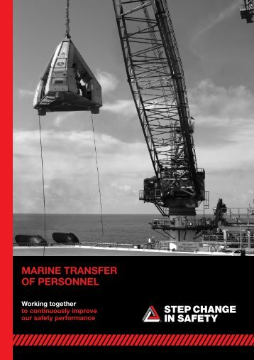 Marine Transfer of Personnel Guidelines - Marine Safety Forum