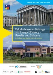 Refurbishment of Buildings and Energy Efficiency - Barcelona ...