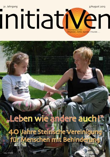 Initiativen 3/August 2013 - Verein Initiativ