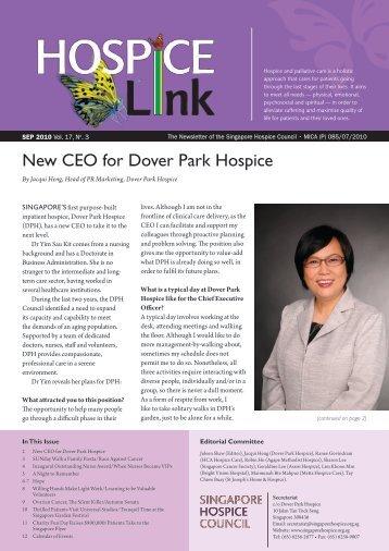 how to go dover park hospice