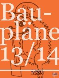 Bauplan 2013/14 - Aktuelles