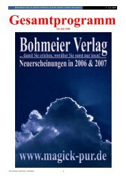 PDF-Katalog herunterladen - Bohmeier Verlag