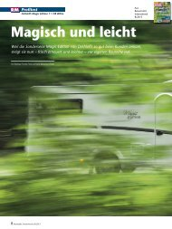 Artikel aus Reisemobil International 8/2013 - Dethleffs