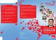 PANKOW - SPD-Fraktion des Abgeordnetenhauses von Berlin