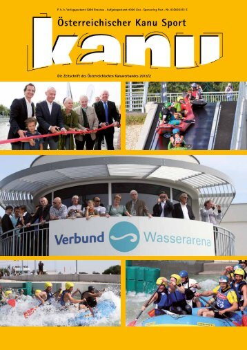 Kanuzeitung 2013 - Wiener Kanuverband