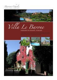 Villa Le Barone - Merrioncharles.com