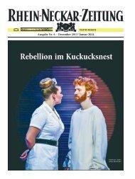 Theatermagazin Nr. 6 für Dezember 2013/Januar 2014