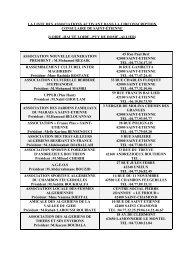 la liste des associations activant dans la circonscription - Consulat d ...