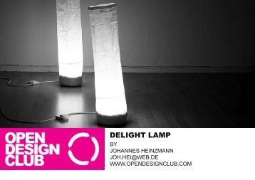 DELIGHT LAMP - open design club