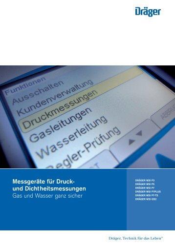 Druck/Dichtheit - Dräger Safety MSI GmbH