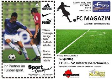 Spieltag 3 - Schmeien - FC 99