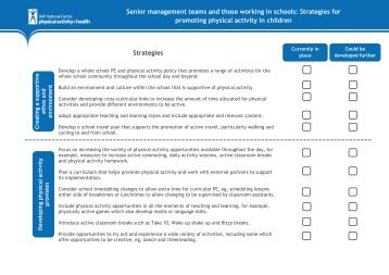 Senior management teams and those working in schools: Strategies ...
