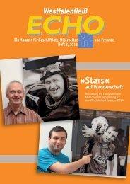 Stars« auf Wanderschaft - Westfalenfleiß GmbH