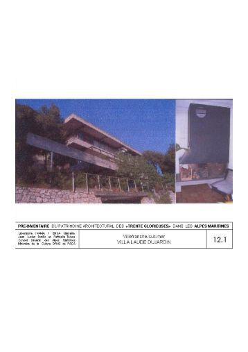 Villefranche-sur-Mer - Villa Laude et Dujardin