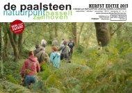 De Paalsteen - Jg. 12 nr. 3 - herfsteditie 2013