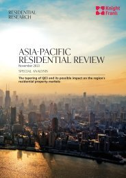 ASIA-PACIFIC RESIDENTIAL REVIEW - Knight Frank