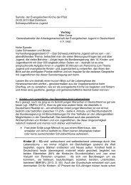 Jugend und Jugendverbandsarbeit - Arbeitsgemeinschaft der ...