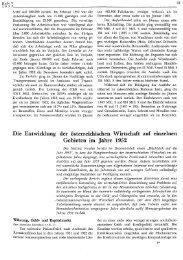 Die Entwicklung der österreichischen Wirtschaft auf einzelnen ... - Wifo