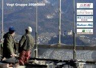 Geschäftsbericht 2008-2009 der VOGT GRUPPE (PDF 4.1 MB)