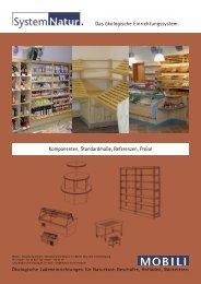 Das ökologische Einrichtungssystem. Komponenten, Standardmaße ...