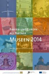 Museumskalender 2014 - Bayerischen Staatsministerium für ...